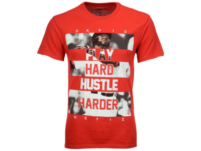 Boston Red Sox David Ortiz MLB Men's Hustle Player T-Shirt