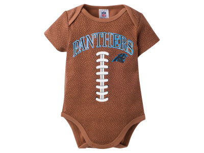 Carolina Panthers NFL Newborn Football Onesie