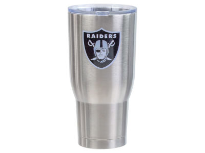 Oakland Raiders 32oz Stainless Steel Keeper