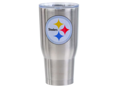 Pittsburgh Steelers 32oz Stainless Steel Keeper