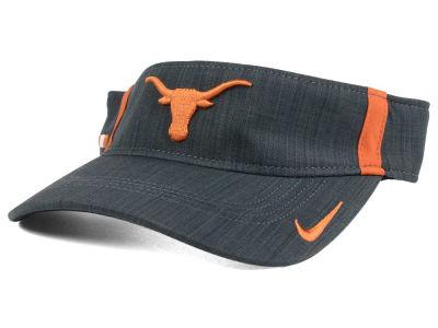 a8f5a774be4 Texas Longhorns Nike NCAA Sideline Aero Visor
