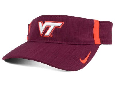 Virginia Tech Hokies Nike NCAA Sideline Aero Visor
