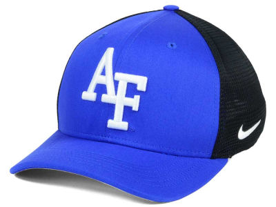 Air Force Falcons Nike NCAA Aero Bill Mesh Swooshflex Cap