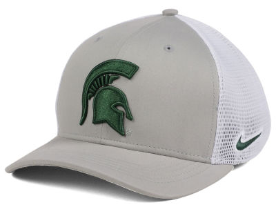 Michigan State Spartans Nike NCAA Aero Bill Mesh Swooshflex Cap