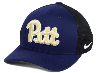 Pittsburgh Panthers Nike NCAA Aero Bill Mesh Swooshflex Cap