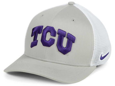 Texas Christian Horned Frogs Nike NCAA Aero Bill Mesh Swooshflex Cap