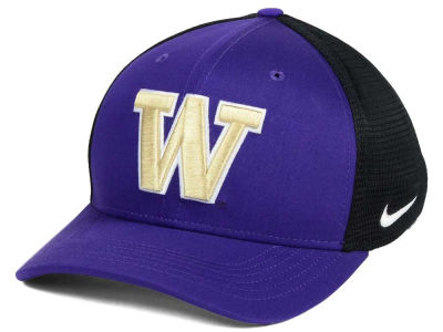 Washington Huskies Nike NCAA Aero Bill Mesh Swooshflex Cap