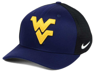 West Virginia Mountaineers Nike NCAA Aero Bill Mesh Swooshflex Cap