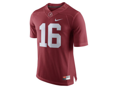 Alabama Crimson Tide #16 Nike NCAA Men's Limited Football Jersey