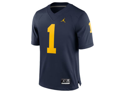 Michigan Wolverines #1 Nike NCAA Men's Limited Football Jersey