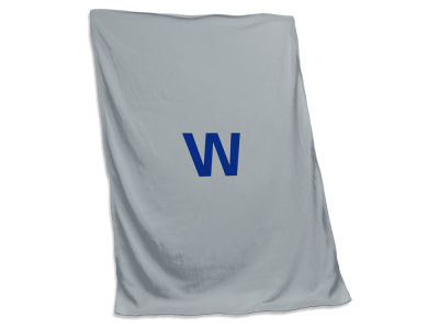 Chicago Cubs Logo Brands Sweatshirt Blanket