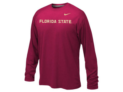 Florida State Seminoles Nike NCAA Youth Legend Workmark Long Sleeve T-Shirt