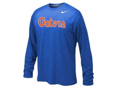 Florida Gators Nike NCAA Youth Legend Workmark Long Sleeve T-Shirt