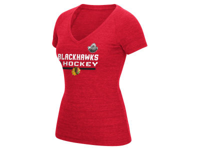 Chicago Blackhawks Reebok 2017 NHL Women's Winter Classic Locker Room Authentic T-Shirt