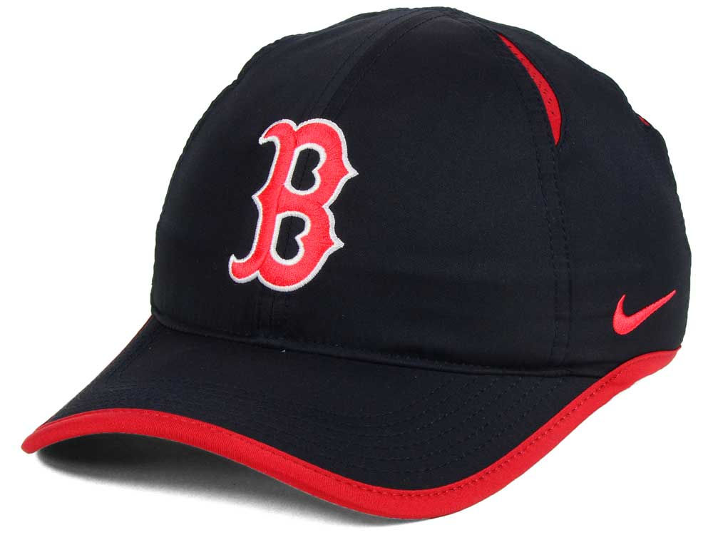 Boston Red Sox Nike MLB Dri-Fit Featherlight Adjustable Cap  cbcdcb348d4
