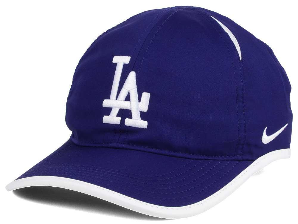 Los Angeles Dodgers Nike MLB Dri-Fit Featherlight Adjustable Cap ... 169fc83c8b2