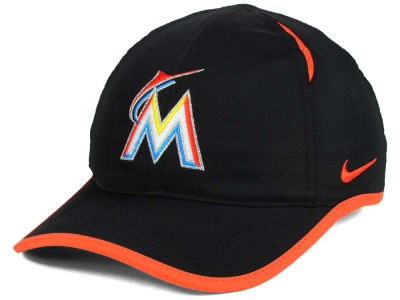 Miami Marlins Nike MLB Dri-Fit Featherlight Adjustable Cap