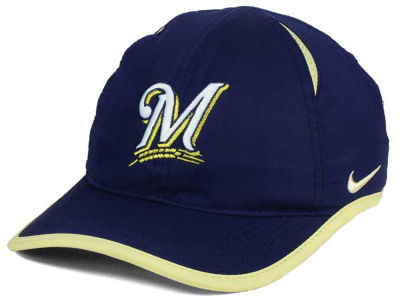 Milwaukee Brewers Nike MLB Dri-Fit Featherlight Adjustable Cap