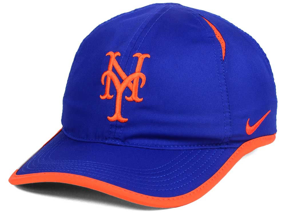 1f11bd04375 New York Mets Nike MLB Dri-Fit Featherlight Adjustable Cap