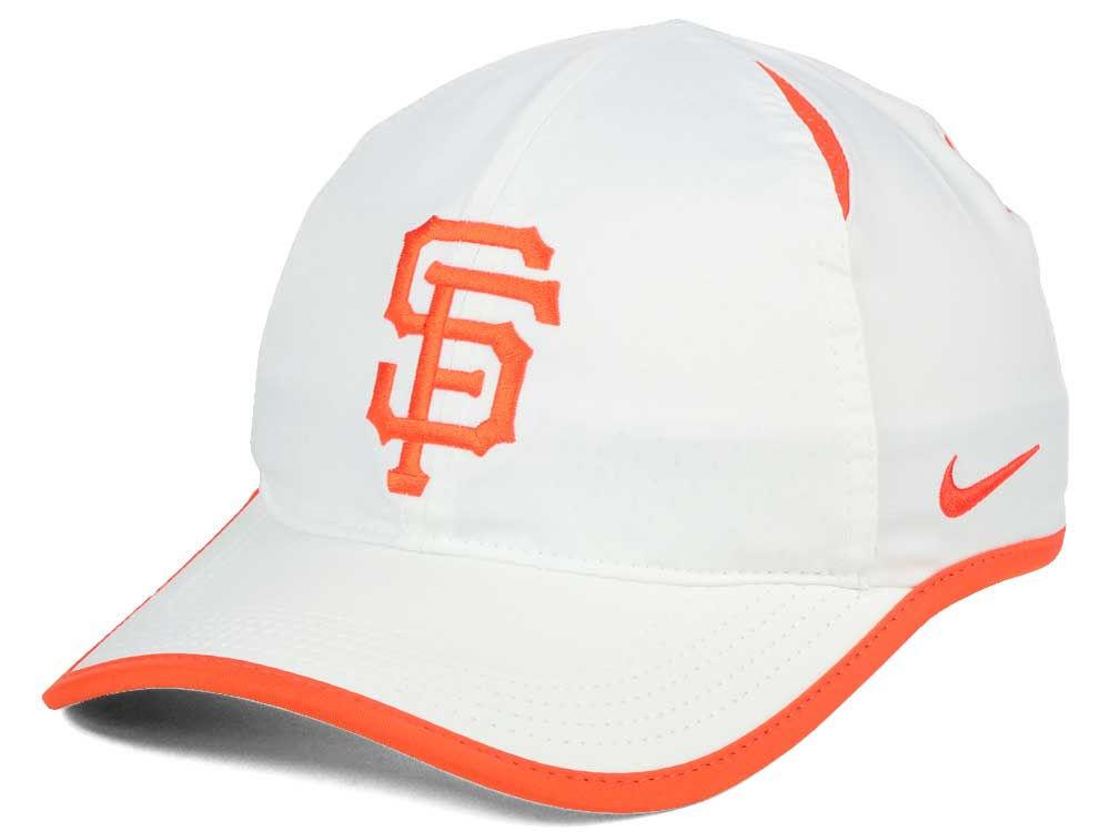 San Francisco Giants Nike MLB Dri-Fit Featherlight Adjustable Cap ... 40c6f112e64