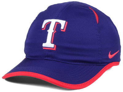 Texas Rangers Nike MLB Dri-Fit Featherlight Adjustable Cap