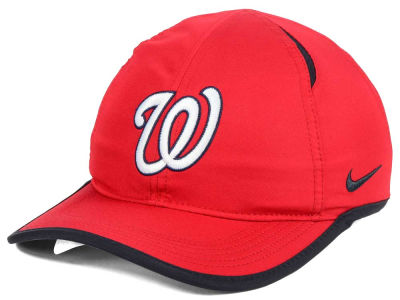 Washington Nationals Nike MLB Dri-Fit Featherlight Adjustable Cap