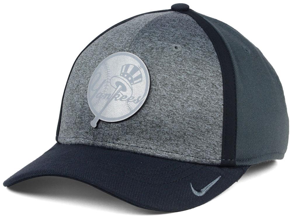 2ffdddbac62 New York Yankees Nike MLB Reflective Swooshflex Cap