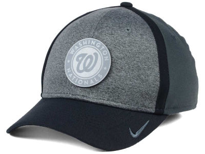 best service 50839 ee554 ... australia washington nationals nike mlb reflective swooshflex cap 65091  b7271