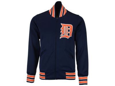 Detroit Tigers Mitchell and Ness MLB Men's Authentic Full Zip BP Jacket