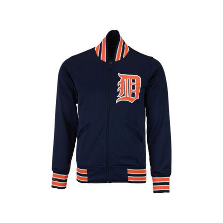 Detroit Tigers Mitchell & Ness MLB Men's Authentic Full Zip BP Jacket
