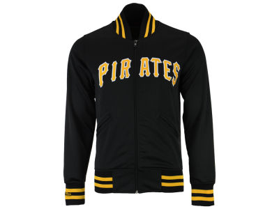 Pittsburgh Pirates Mitchell and Ness MLB Men's Authentic Full Zip BP Jacket