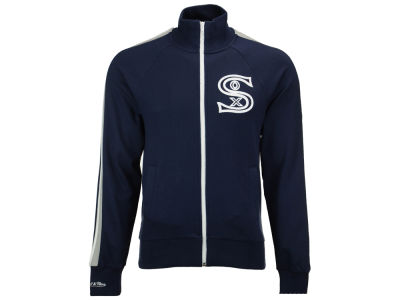 Chicago White Sox Mitchell and Ness MLB Men's Division Terry Track Jacket