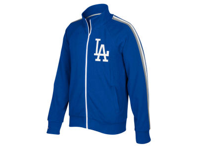 Los Angeles Dodgers Mitchell and Ness MLB Men's Division Terry Track Jacket