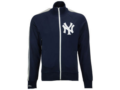 New York Yankees Mitchell and Ness MLB Men's Division Terry Track Jacket