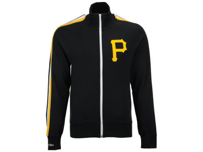 Pittsburgh Pirates Mitchell & Ness MLB Men's Division Terry Track Jacket