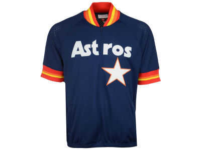 Houston Astros Craig Biggio Mitchell & Ness MLB Men's BP Mesh Jersey Top