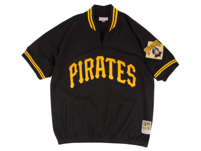 Pittsburgh Pirates Mitchell and Ness MLB Men's BP Mesh Jersey Top
