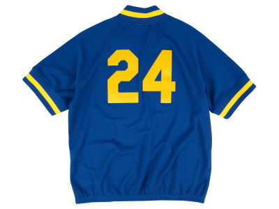 Seattle Mariners Mitchell and Ness MLB Men's BP Mesh Jersey Top