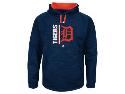 Detroit Tigers Majestic MLB Men's On-Field Icon Hoodie