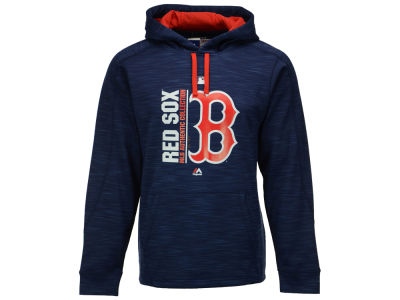 Boston Red Sox Majestic MLB Men's On-Field Icon Hoodie