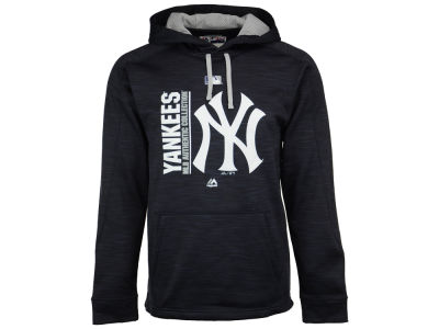 New York Yankees Majestic MLB Men's On-Field Icon Hoodie