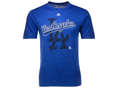 Los Angeles Dodgers Majestic MLB Men's Razoredge T-Shirt