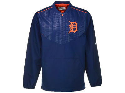 Detroit Tigers Majestic MLB Men's On-Field Cool Base Gamer Jacket