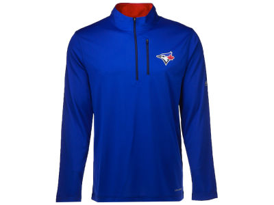 Toronto Blue Jays Majestic MLB Men's Six-Four-Three 1/2 Zip Pullover