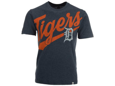 Detroit Tigers Majestic MLB Men's Super Script T-Shirt