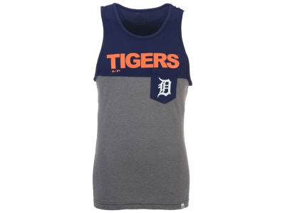 Detroit Tigers Majestic MLB Men's Pocket Tank