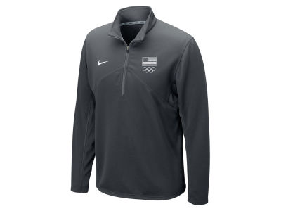 Nike USA Men's Branded Rio Olympics Quarter Zip Pullover