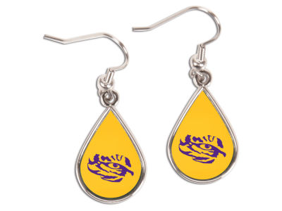 LSU Tigers Tear Drop Earrings