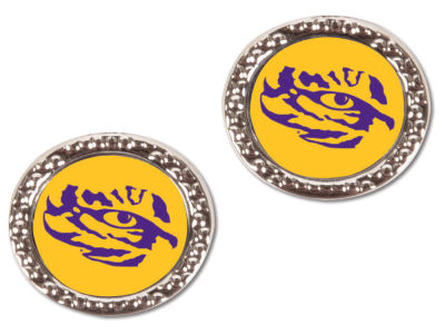 LSU Tigers Hammer Post Earrings
