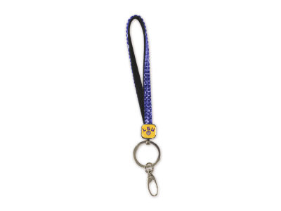 LSU Tigers NCAA Bling Key Strap
